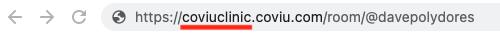 User Web Address