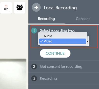 Recording Type