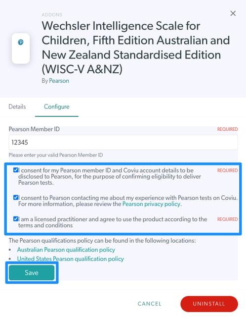 WISC-V A&NZ Consent