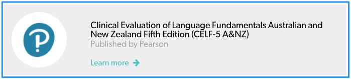 CELF-5 A&NZ Addon