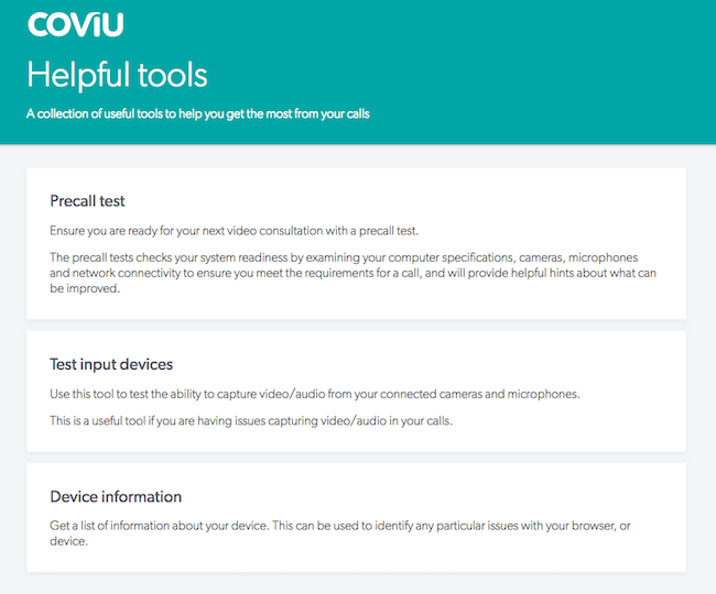 Tools Page