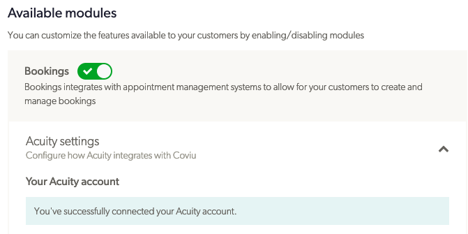 Coviu Acuity Connection Success