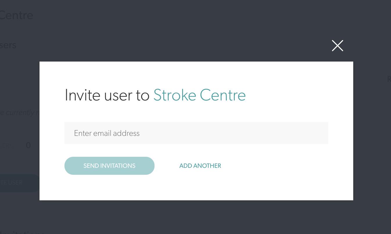 Coviu Stroke Centre Invitation