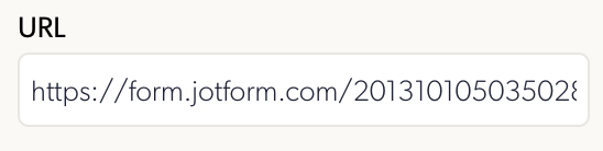 Form URL