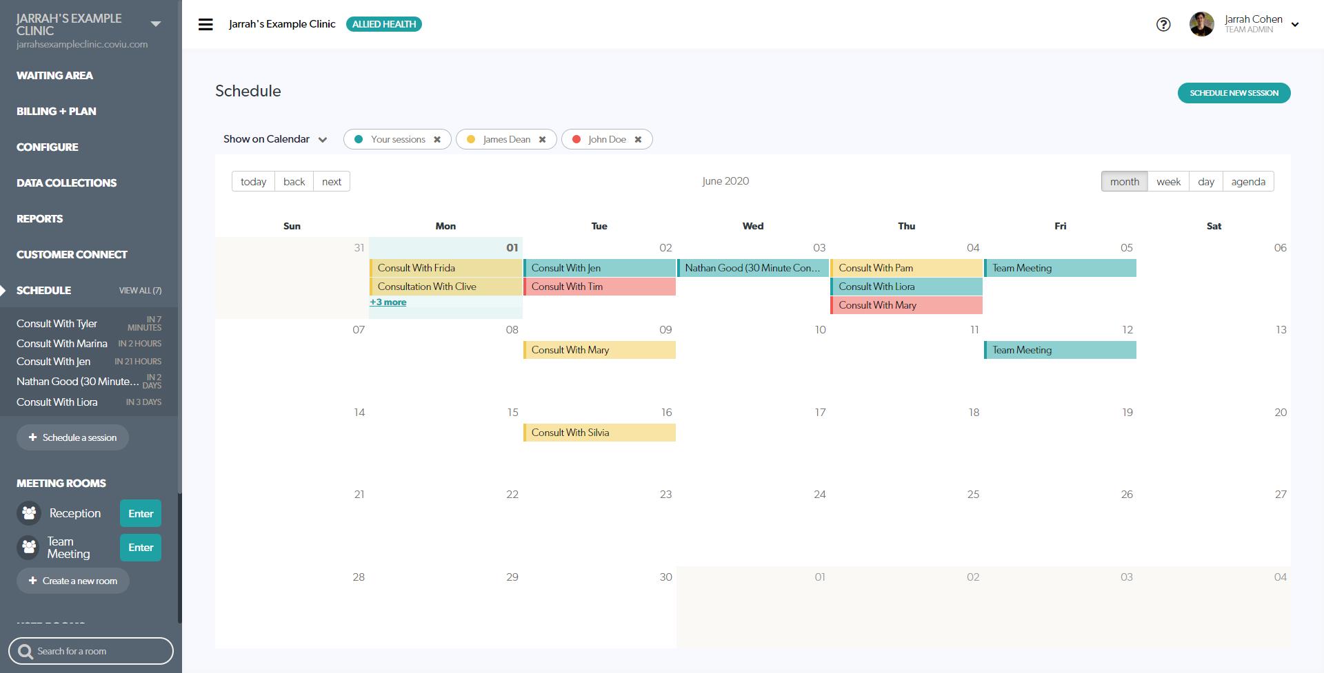 Calendar Appoitments View