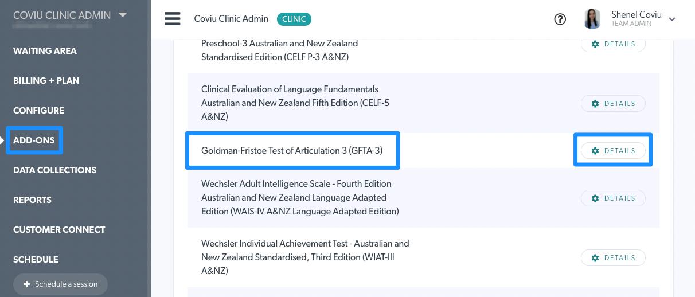GFTA-3 Addon in List