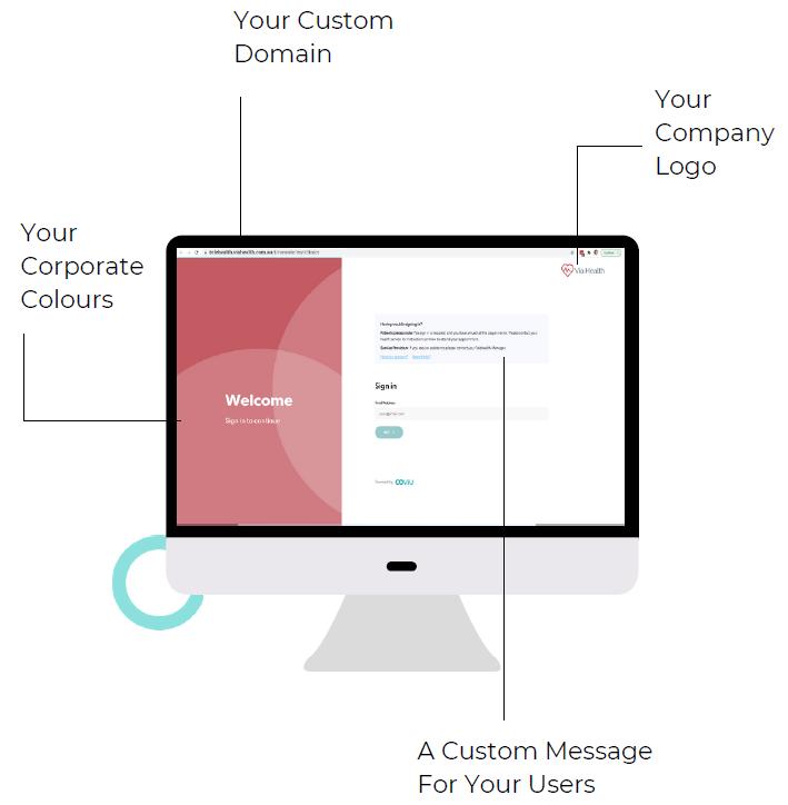 Enterprise Login Screen