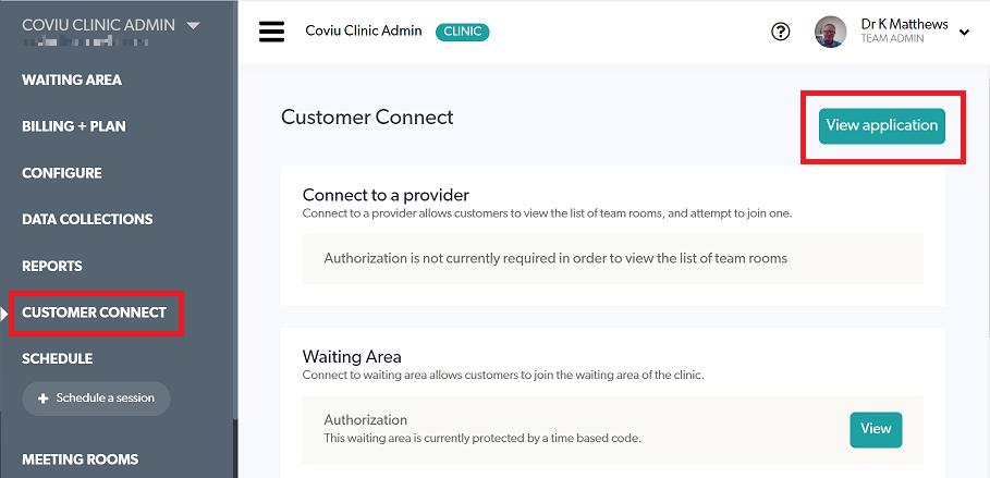 Customer Connect Portal