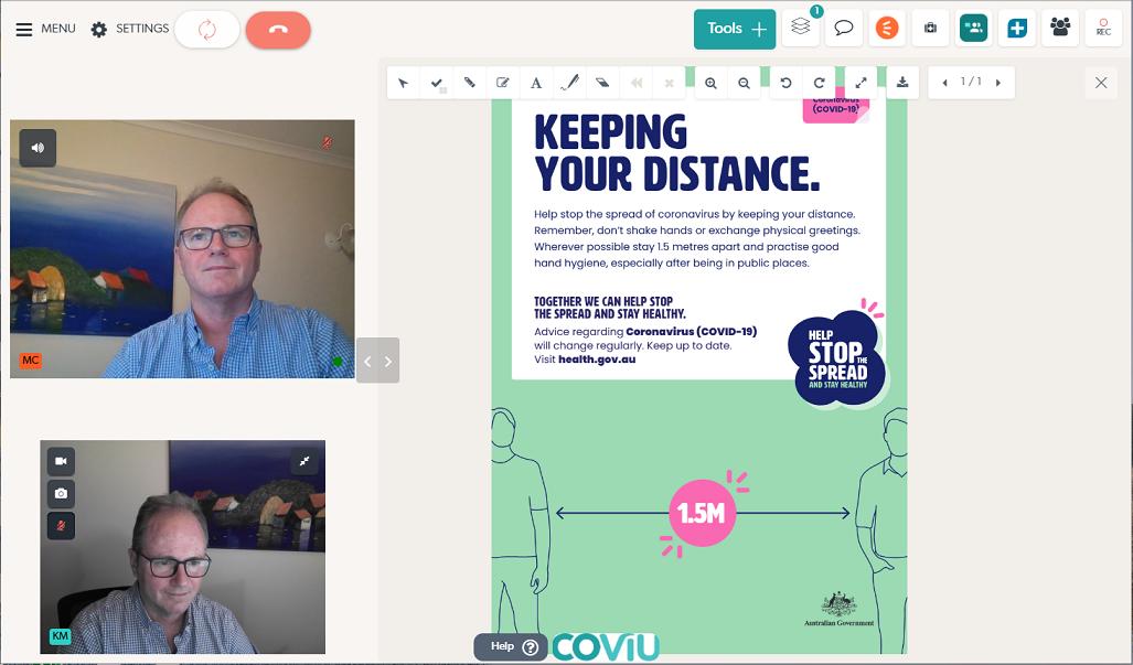 Coviu Call PDF Sharing