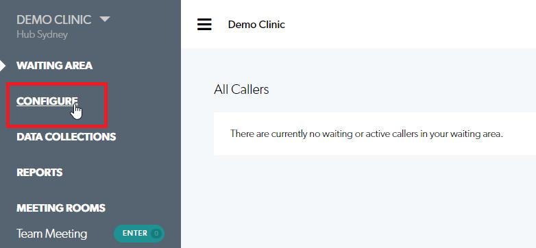 Clinic Configuration